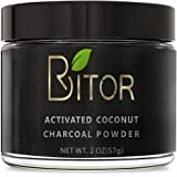BRITOR Teeth Whitening Charcoal Powder Natural – 2OZ