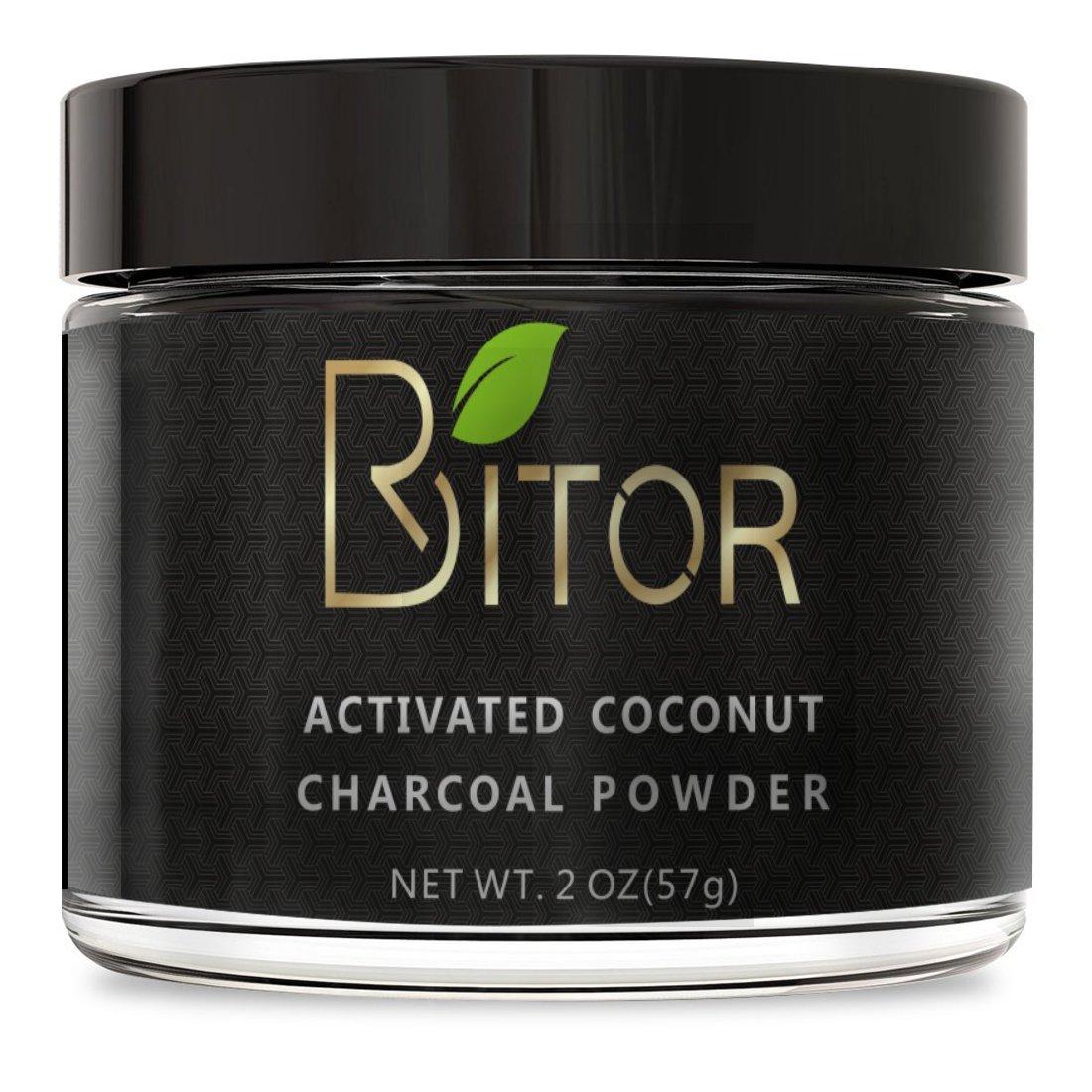 BRITOR Teeth Whitening Charcoal Powder Natural – 2OZ