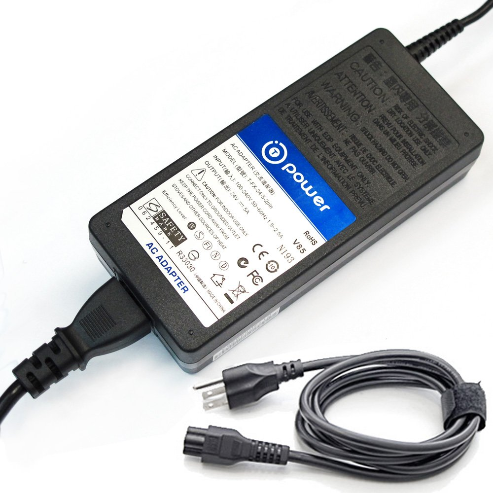 "T-Power 4-Pin Ac Dc Adapter Charger Compatible with Wacom Cintiq 24HD DTK2400 DTK-2400 and Cintiq 24HD Touch DTH2400 DTH-2400 27QHD 27"" inch KP-DTH-2700 27QHD POWA116 Creative Switching Power Supply"