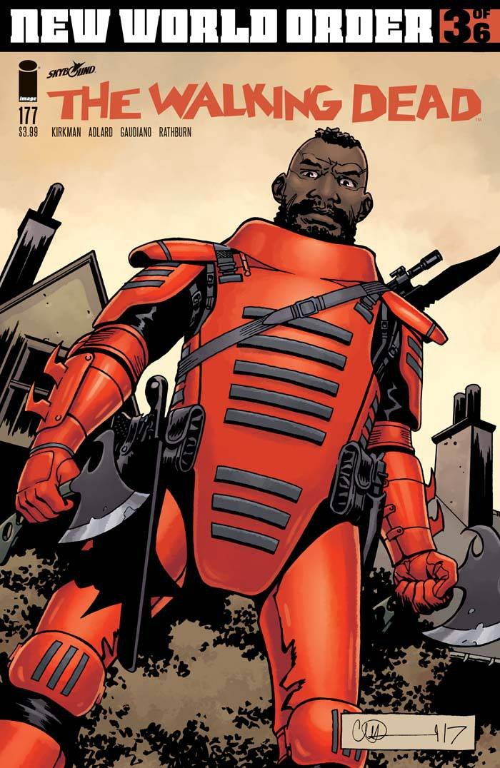 2018 Image Comics WALKING DEAD #177 Robert Kirkman Charlie Adlard
