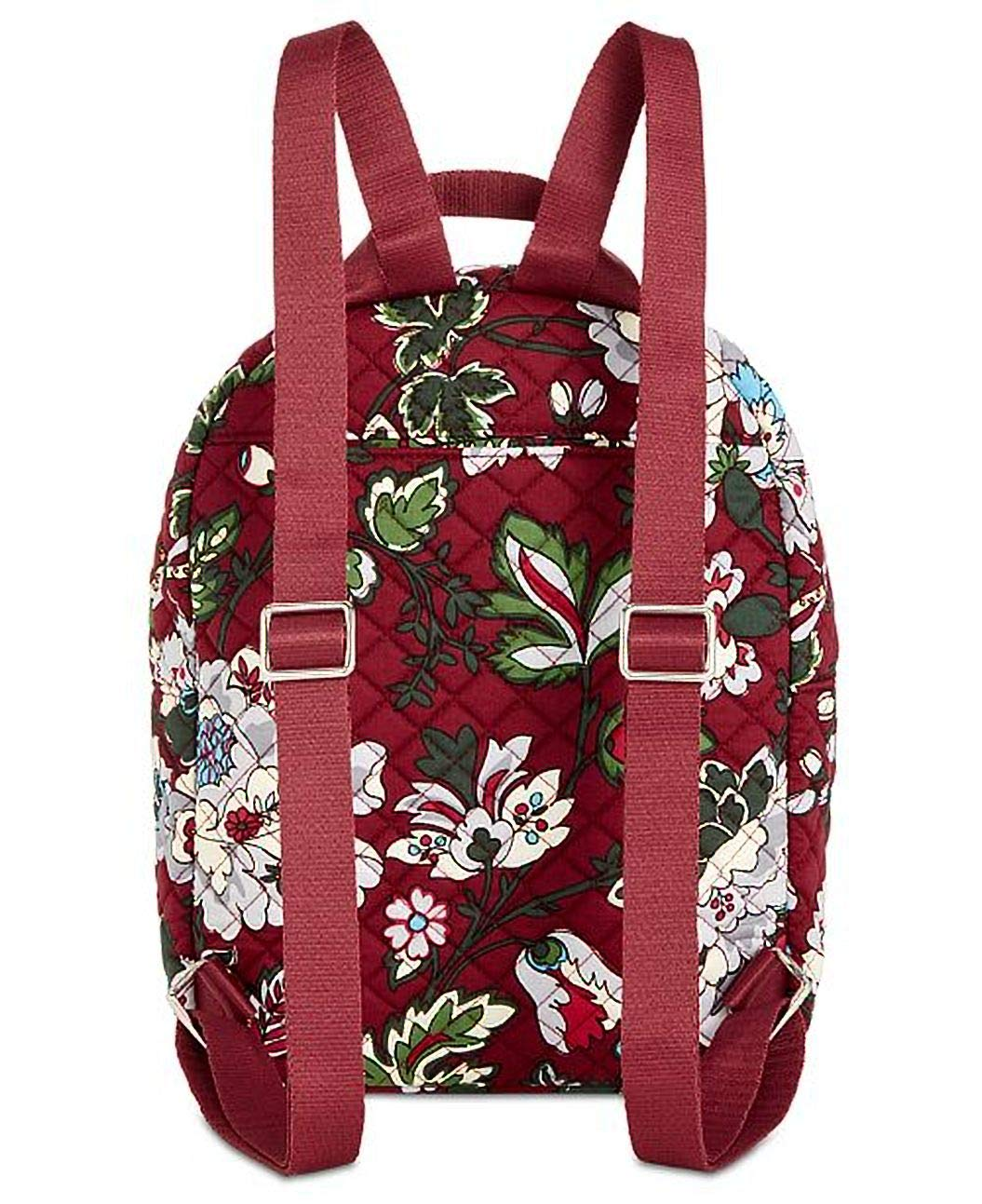Bordeaux Blooms Iconic Leighton Backpack Signature Cotton