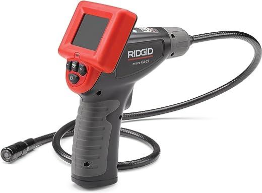 RIDGID 40043 micro CA-25 hand-inspectiecamera, inspectiecamera, boroscoop, endoscoop, 17 mm camerakop