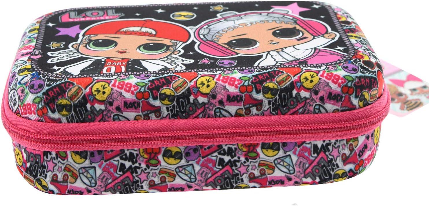 Pouch Poche Crayon Case Filles Garcon Pencil Holder Sac a Crayons Pencil Case 20*7*10cm LOL Trousse /à Crayons Grande Capacit/é LOL Surprise Sac de Papeterie