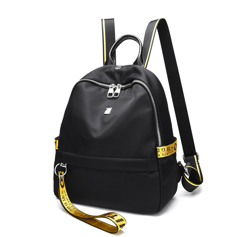 Amazon.com: QIHUOKEJU Women Simple Backpack Lady Letter Fashion Mochila For College Shopping Rucksack: Shoes