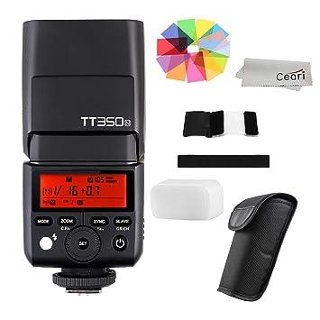 Godox TT350N 2 4G Wireless GN36 HSS 1: Amazon co uk: Camera