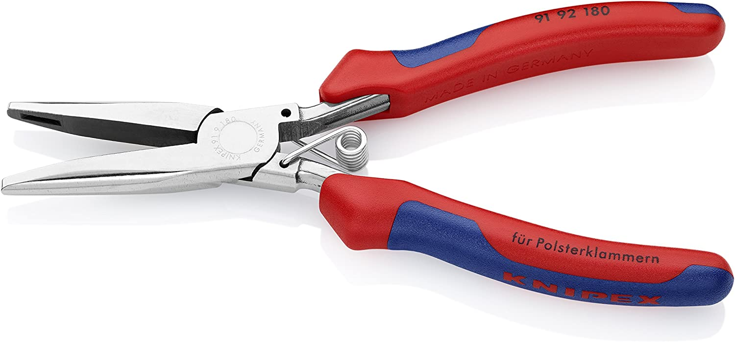 KNIPEX Tools - Hog Ring Pliers, Multi-Component (9192180)