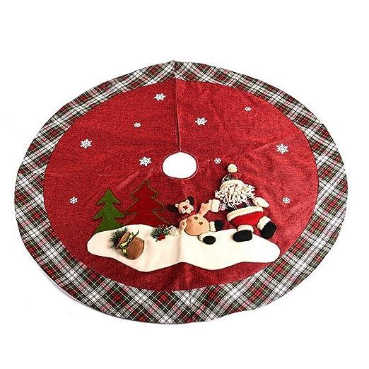Falda para Árbol de Navidad Decoración Grandes faldas ...