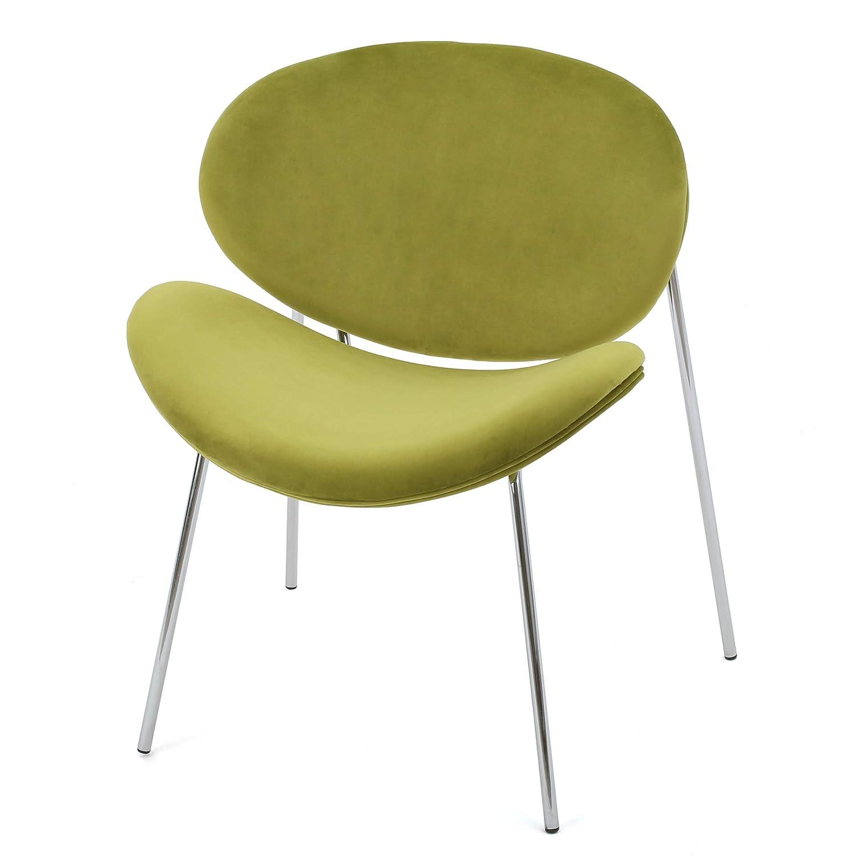 Amazon Jayne Velvet Contour Chair Kitchen & Dining