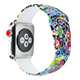 Cumeou Compatible with Apple Watch Band 40mm 44mm
