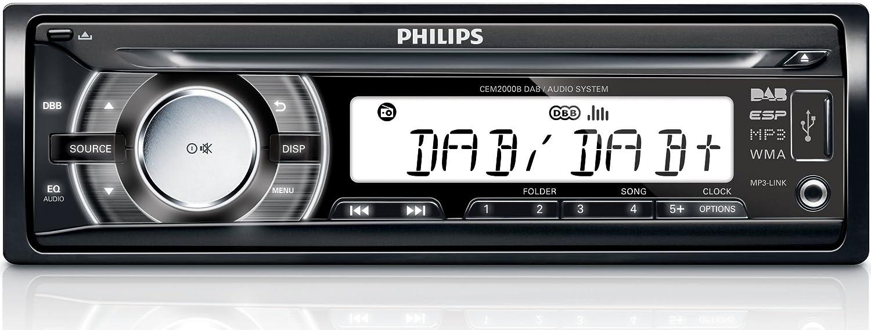 philips car audio system cem2000b 05 car media receivers dab fm rh amazon co uk Philips Flat TV Manual Philips User Guides Speaker Bt7900