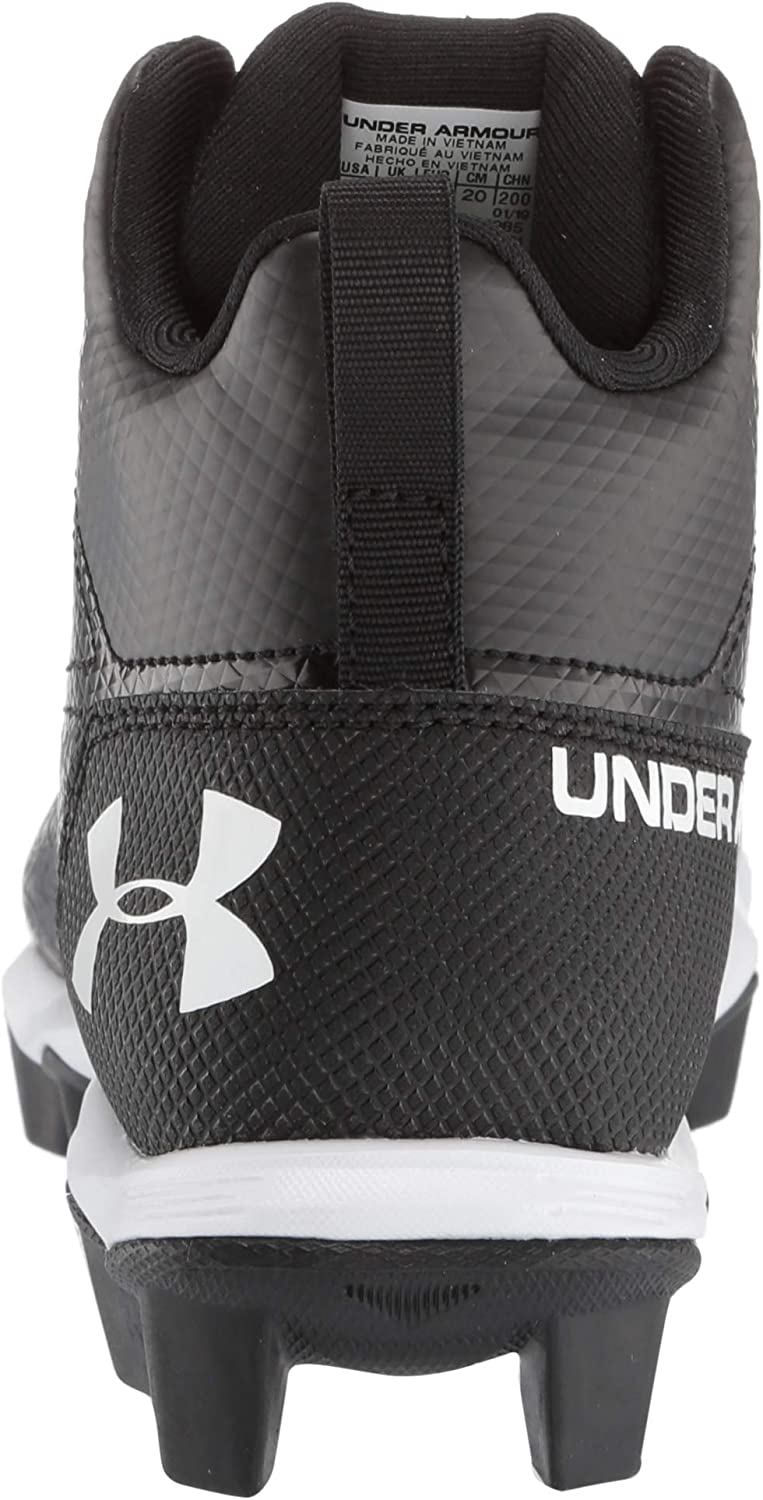 Under Armour Hammer Mid RM Big Kid//Little Kid Football Cleat *Size 4y*
