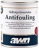 AWN antifouling auto-polissant pour bateaux et Yachts 0,75 à 2,5 litres couleurs au choix