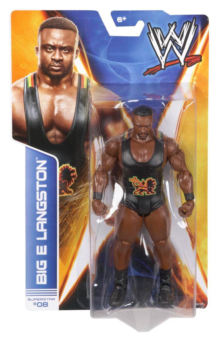 WWE Series #36 Big E Langston Action Figure Mattel X9827