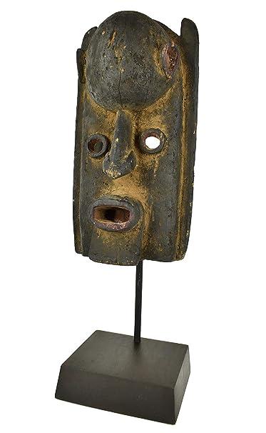 Dogon Máscara de Madera Mali Custom Stand African Art ...