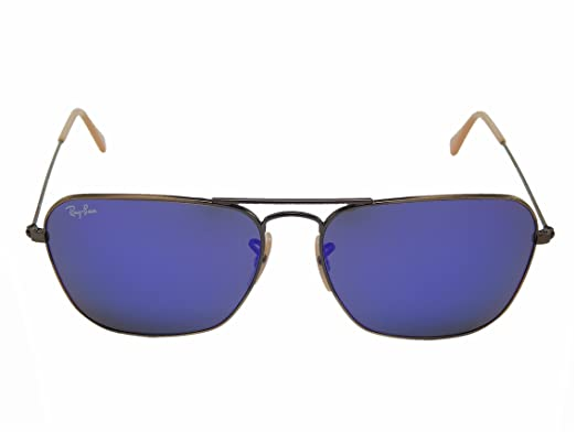 36d5d005bba5 Image Unavailable. Image not available for. Color  Ray-Ban Men s Caravan Mirrored  Sunglasses ...