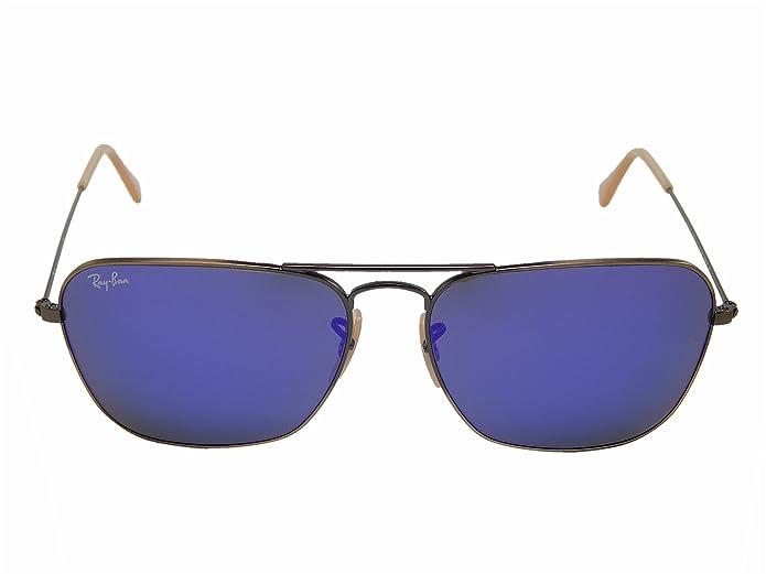 e22cd854cc Amazon.com  Ray-Ban Men s Caravan Mirrored Sunglasses