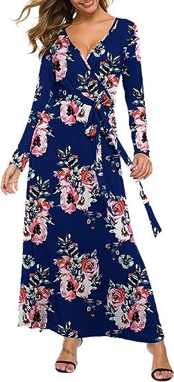 Free Amazon Promo Code 2020 for Women Long Sleeve Maxi Dress