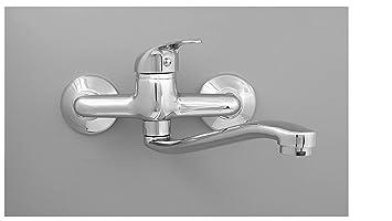 Sehr Wandarmatur Küchenarmatur Küche Spüle Wandhahn Wasserhahn für Wand FL97