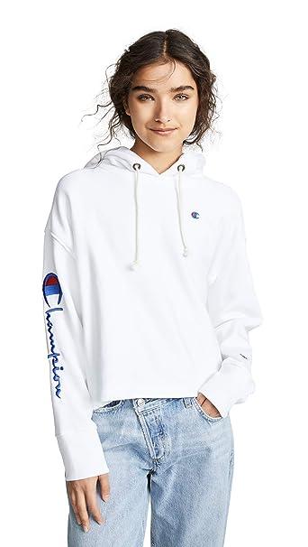 Champion Premium Reverse Weave Women s Maxi Hooded Sweatshirt 114248e5f2