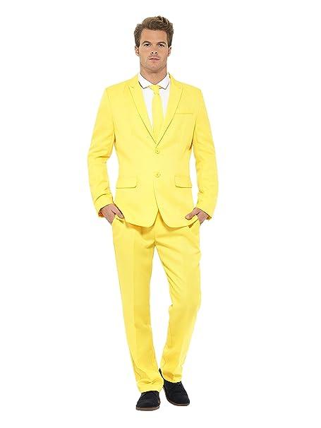 Amazon.com: Smiffy s pantalones de hombre amarillo traje ...