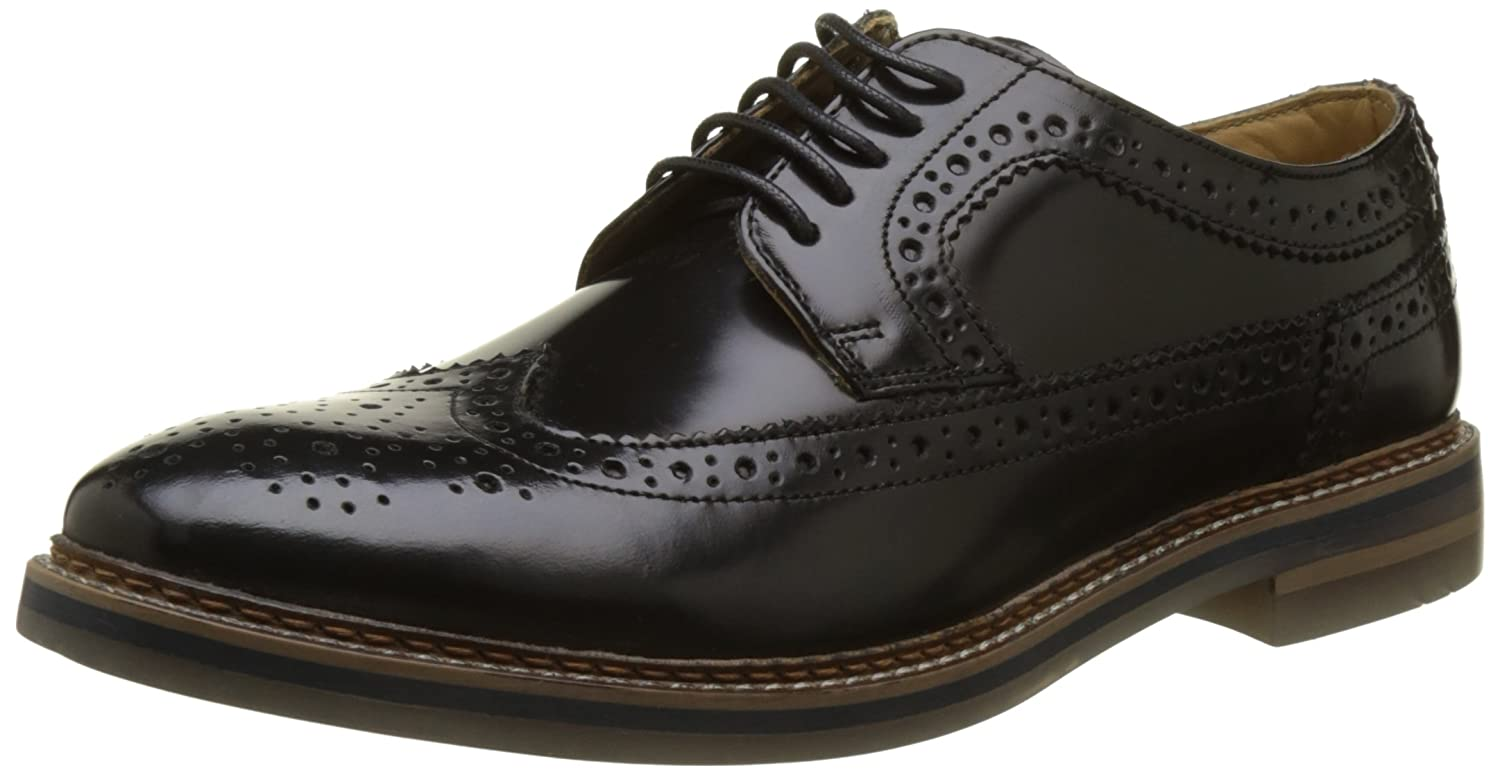 Base London Turner, Zapatos de Cordones Brogue para Hombre
