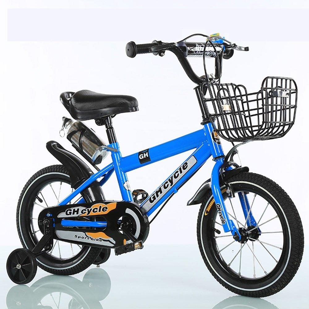 男性と女性のサイクリング、子供用自転車、ベビーベビーカー ( 色 : 青 , サイズ さいず : 88cm ) B078KNTZJF 88cm 青 青 88cm