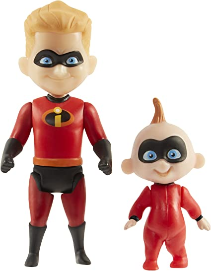 Incredibles 2 Dash with Baby Jack Figure 4-Inch