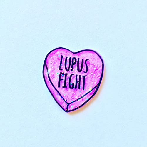 Lupus Awareness Pin Amazon Handmade