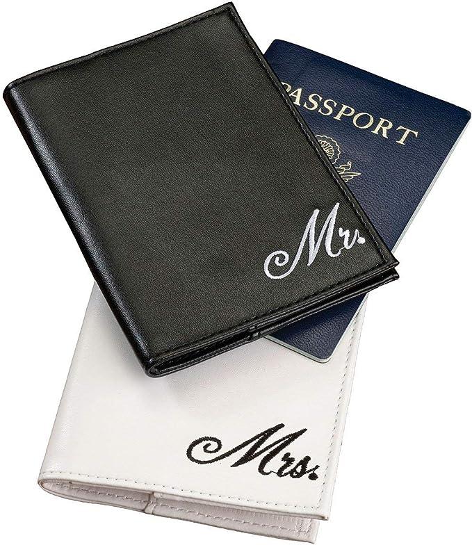 carteras para pasaporte de pareja