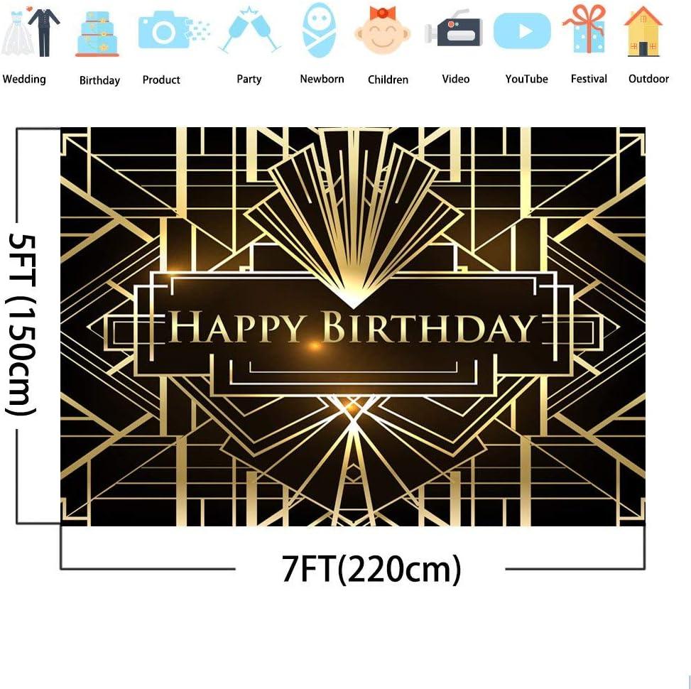 Mehofoto Geburtstag Photo Booth Hintergrund 7x5ft Große Kamera