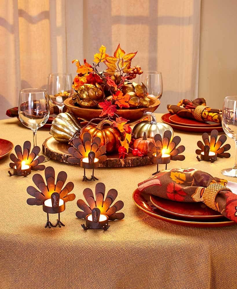 Thanksgiving Table Decorating: 15 Easy Thanksgiving Table Decorating Ideas