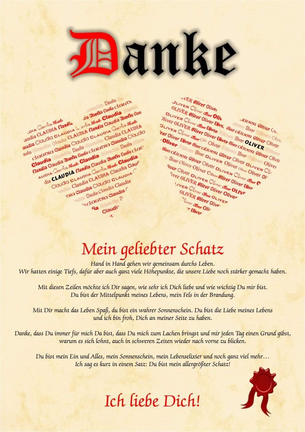 Liebeserklarung Geschenkidee Valentinstag Mann Frau Bild