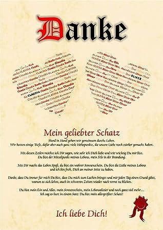 ausgefallene Liebeserklärung Geschenkidee Valentinstag Hochzeitstag Jahrestag