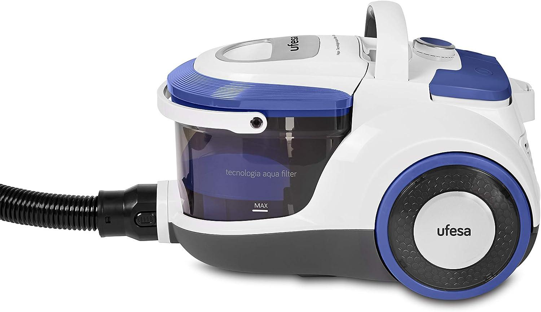 Ufesa AP5150 Aspirador sin Bolsa, Filtro HEPA con Tecnología Aqua Filter, Tubo telescópico Ajustable, Asa de transporte, RecogeCables automático: Amazon.es: Hogar