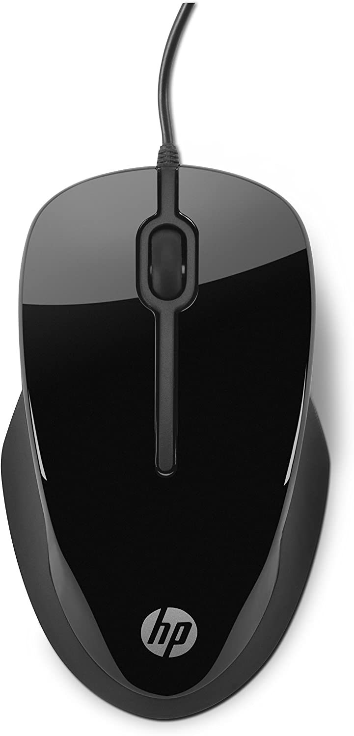 HP Wired USB Mouse X1500 (Black)