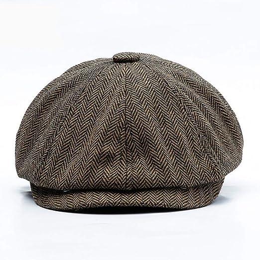 kyprx Gorra Snapback Sombreros Gorra Gorra Cadera Tweed Sombrero ...