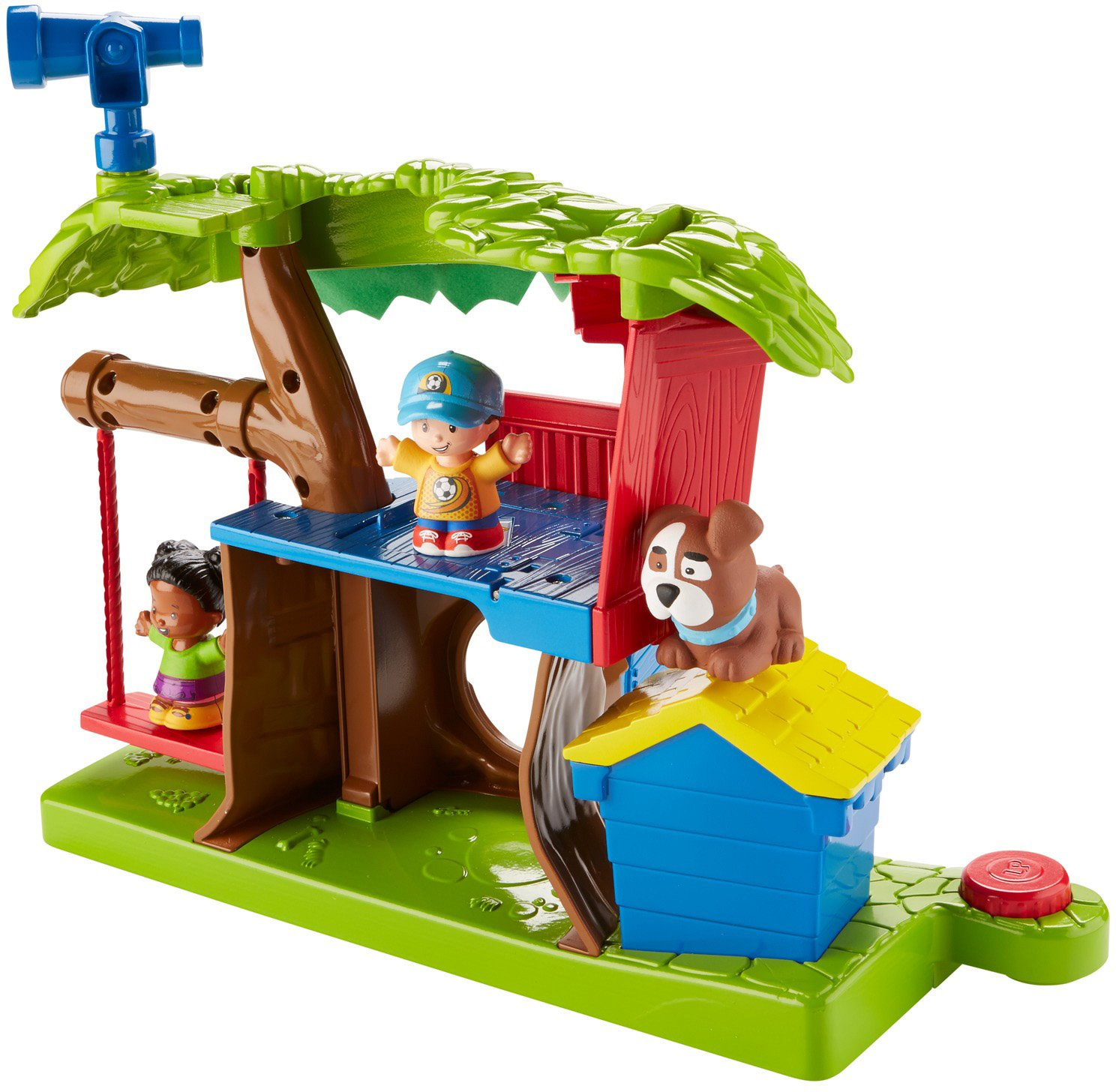 Fisher Price Little People Swing Treehouse Playset