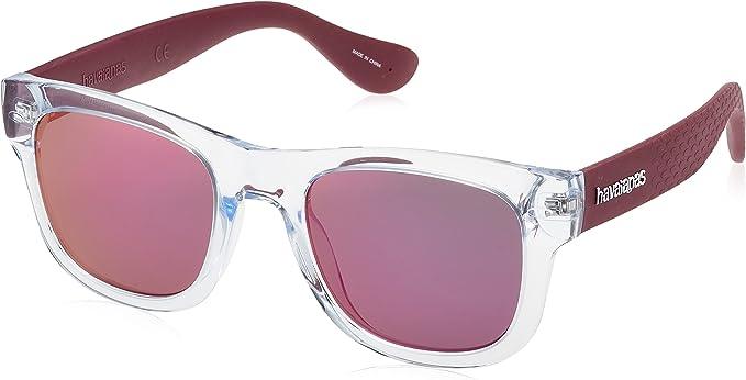 Havaianas PARATY/M VQ 22K 50 Gafas de sol, Rojo (Cry Burgundy/Grey Grey), Unisex Adulto