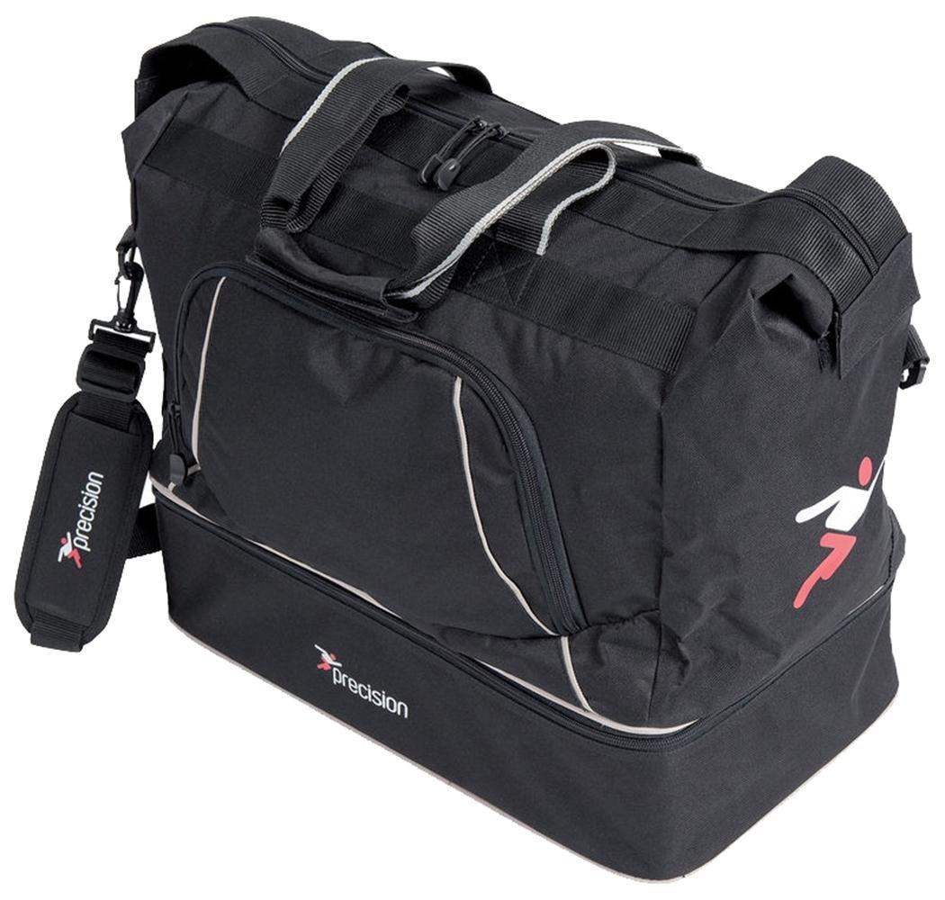 PrecisionトレーニングサッカースポーツSenior Players Bag LuggageチームキットHoldall B01H807BECネイビー/シルバー