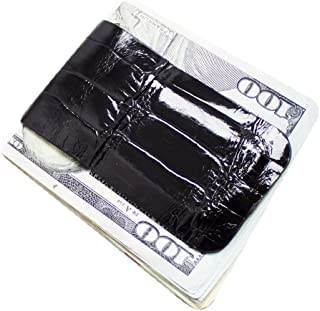 product image for Magnetic Money Clip Genuine Alligator Wallets Collection Slim Front Pocket Minimalist Wallet