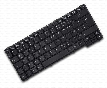 X-Comp Teclado negro para Fujitsu Siemens Amilo A1650 M7400 ...