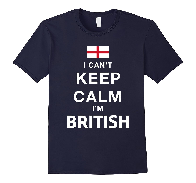 I Cant Keep Calm Im A British T-shirt-CD