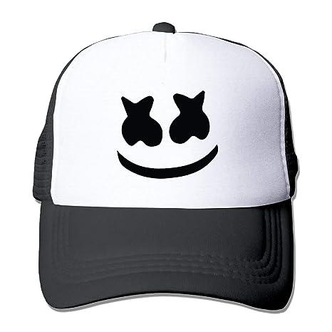 Xdevrbk Adult Mesh Baseball Cap Marshmello Face Trucker Hat C1: Amazon.es: Deportes y aire libre