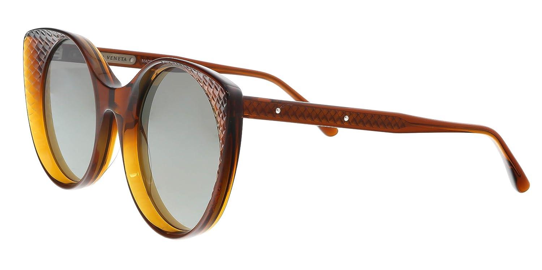 114400ae1aab Sunglasses Bottega Veneta BV 0148 S- 002 BROWN   SILVER at Amazon Men s  Clothing store
