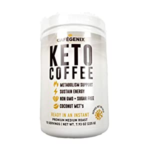 KETO COFFEE Bullet-Proof Instant Coffee