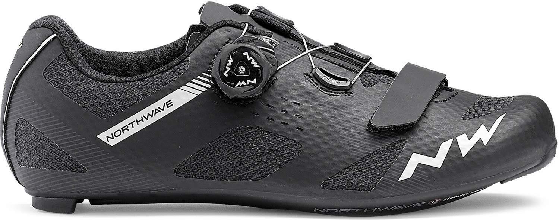 Northwave Storm Carbon Road Bicicleta Zapatos Negro: Amazon.es: Deportes y aire libre