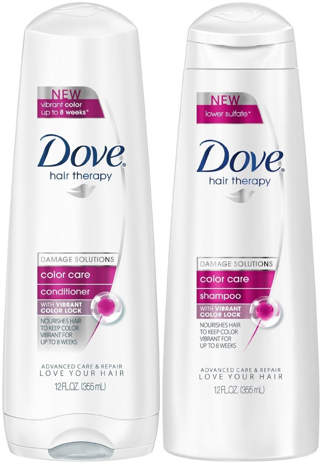 Amazon Dove Hair Therapy Damage Solution Color Care Shampoo