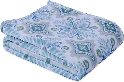 Berkshire Blanket VelvetLoft Throw Blanket in Tile Grey