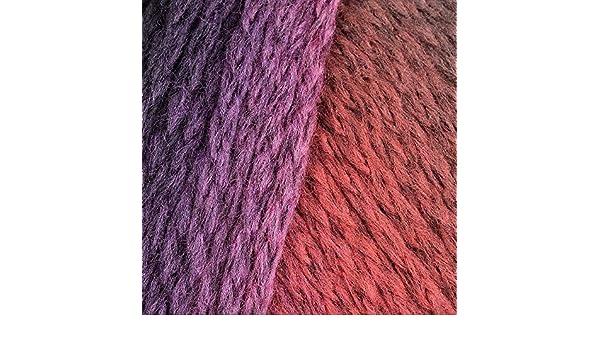 lana Grossa alta moda Cashmere 16 degradé FB Lana creativo 110 verde//marrón 50 G