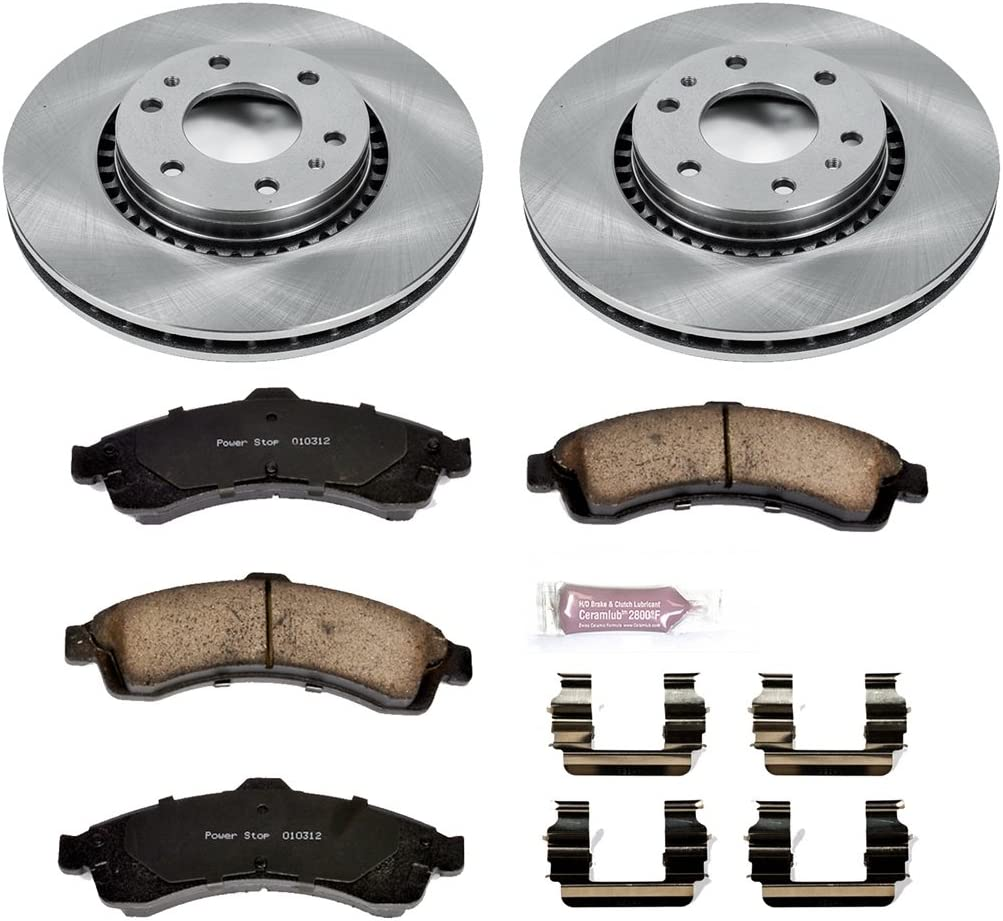 Autospecialty KOE2061 1-Click OE Replacement Brake Kit Power Stop